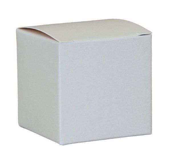 10 x Ivory Flat Packed Favour Boxes